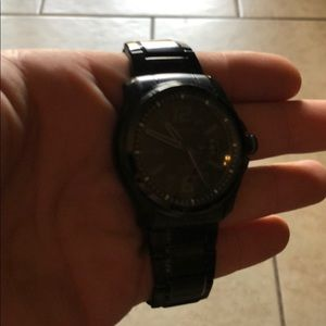 Men's black Citizen watch